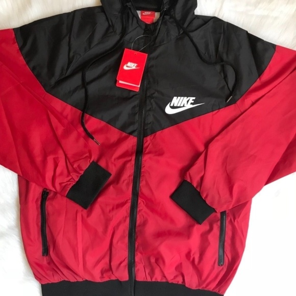 Nike windbreaker jacket Sz Lg Women s-Med Men s 03f4533bb